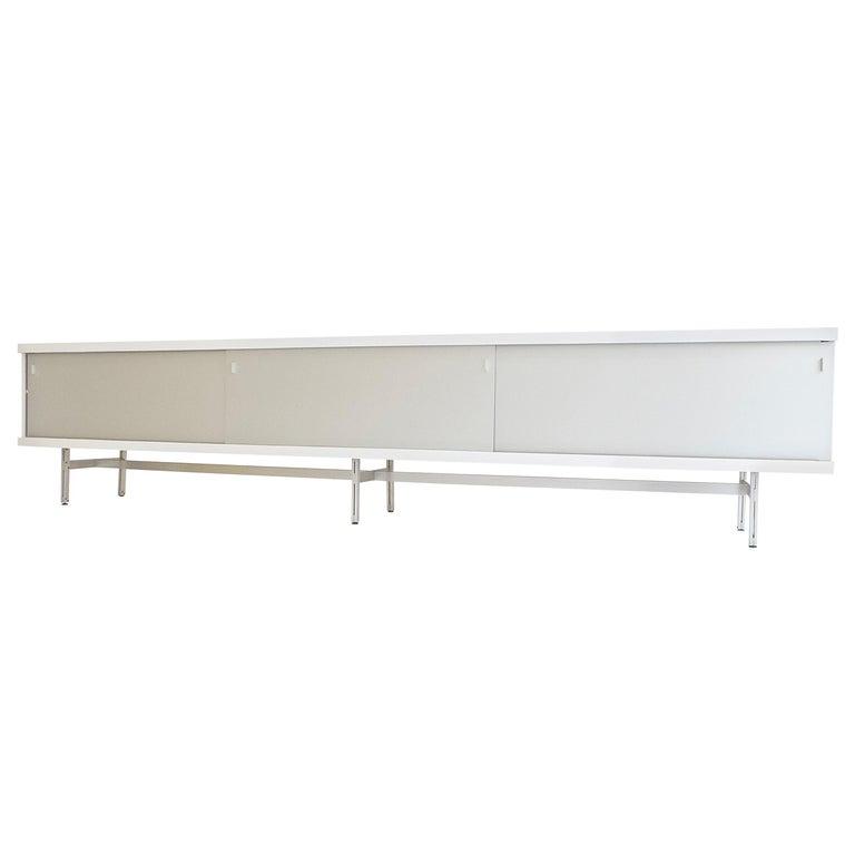 Ultralong sideboard model 1730 by Horst Brüning for Behr Production KG, 1967 For Sale