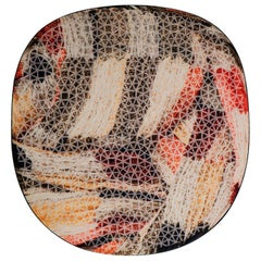 UltraNative Organic Shape Wool Rug in Warm Colors by Deanna Comellini 190x200 cm