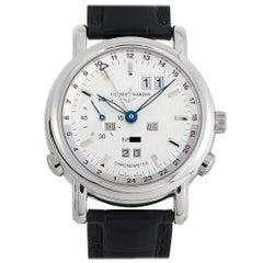 Ulysse Nardin Big Date GMT Perpetual Platinum Watch 329-80
