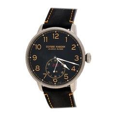 Ulysse Nardin Black  Marine Torpilleur Chronometer Men's Wristwatch 44 mm
