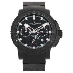 Ulysse Nardin Black Sea Chronograph Watch 353-92-3C