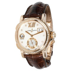 Ulysse Nardin Classico Dual Time 246-22 Women's Watch in 18kt Rose Gold