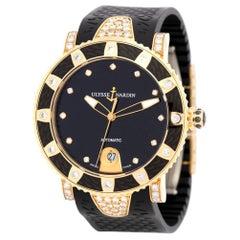 Ulysse Nardin Diver 8106, Black Dial, Certified and Warranty