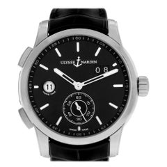 Ulysse Nardin Dual Time 3343126-91, White Dial, Certified