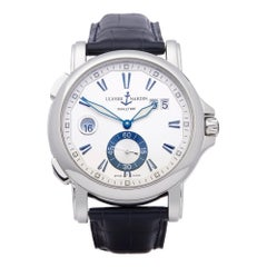 Ulysse Nardin Dual Time Stainless Steel 243-55