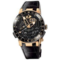 Ulysse Nardin El Toro 326-03, Black Dial, Certified and Warranty