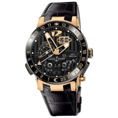 Ulysse Nardin El Toro 326-03, Millimeters Black Dial, Certified and Warranty
