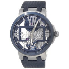 Ulysse Nardin Executive 1713-139, Blue Dial, Certified and Warranty