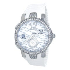 Ulysse Nardin Executive Dual Time 243-10B-3C/691, Mother of Pearl