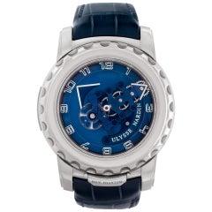 Ulysse Nardin Freak 020-81 18k White Gold Blue Phantom Manual Watch