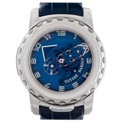 Ulysse Nardin Freak 020-81, Blue Dial, Certified and Warranty