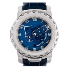 Ulysse Nardin Freak 020-81, Blue Dial, Certified and Warranty