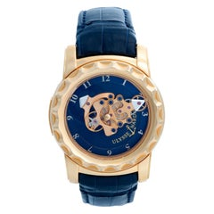 Ulysse Nardin Freak 18 Karat Yellow Gold Men's Watch 016-88