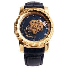 Ulysse Nardin Freak Carrousel Tourbillon Wristwatch 18 Karat Gold Box and Papers