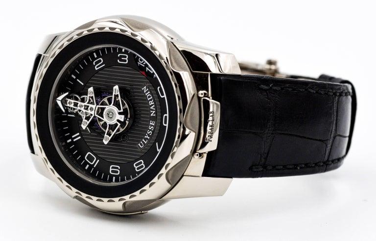 Modern Ulysse Nardin Freaklab Watch For Sale