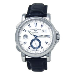 Ulysse Nardin GMT Big Date 243-55, Silver Dial, Certified