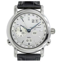 Ulysse Nardin GMT Perpetual 320-22, Case, Certified and Warranty