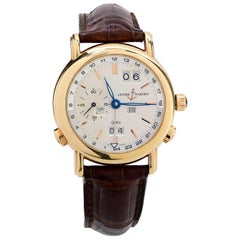 Ulysse Nardin GMT Perpetual Rose Gold with White Dial