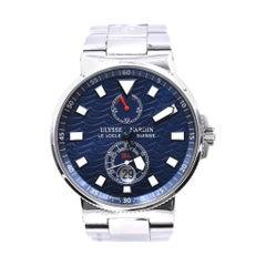 Ulysse Nardin Le Locle Suisse 1846 Blue Dial Watch Ref. 263-68