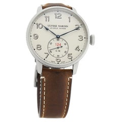 Ulysse Nardin Marine 1183-320LE/60, Off White Dial, Certified