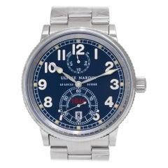 Ulysse Nardin Marine 263-22, Blue Dial, Certified and Warranty