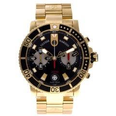 Ulysse Nardin Marine 8006-102-8M/92, Case, Certified and Warranty