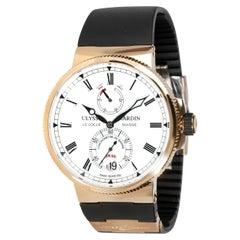 Ulysse Nardin Marine Chronometer 1186-126/EO Men's Watch in 18kt Rose Gold