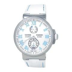 Ulysse Nardin Marine Chronometer Manufacture Automatic Ladies Watch1183-126B/430