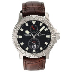 Ulysse Nardin Marine Diver 263-33 Men's Watch Box Papers