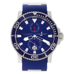 Ulysse Nardin Maxi Marine 260-32-3A, Blue Dial, Certified