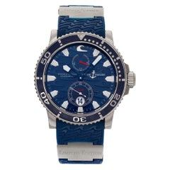 Ulysse Nardin Maxi Marine 263-36LE-3, Case, Certified and Warranty