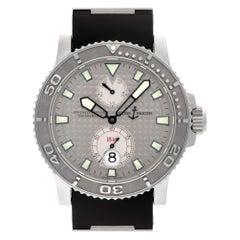 Ulysse Nardin Maxi Marine 263.33, Silver Dial, Certified