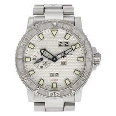 Ulysse Nardin Maxi Marine 333-55-7, Case, Certified and Warranty