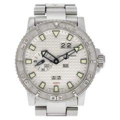 Ulysse Nardin Maxi Marine 333-55-7, White Dial, Certified