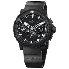 Ulysse Nardin Maxi Marine Diver Black Sea 353-92/3C Chrono Automatic Watch