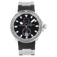 Ulysse Nardin Maxi Marine Diver Steel Titanium Automatic Men's Watch 263-33-3/92