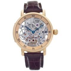 Ulysse Nardin Maxi Skeleton 3006 200 18k Rose Gold Manual Watch
