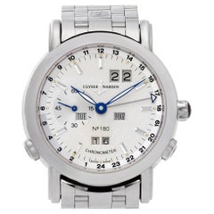 Ulysse Nardin Perpetual Calendar 329-80 Platinum Limited Edition Automatic