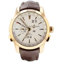 Ulysse Nardin Perpetual Manufacture 322-10, White Dial, Certified and Warranty