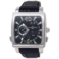 Ulysse Nardin Quadrato 320-90/92, Black Dial, Certified