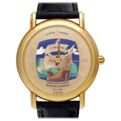 Ulysse Nardin San Marco 131-77-9, Gold Dial, Certified and Warranty