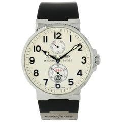 Ulysse Nardin Stainless Steel Marine Chronometer self-winding Wristwatch