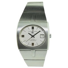 Ulysse Nardin Stainless Steel Sports Automatic Watch, circa 1970s