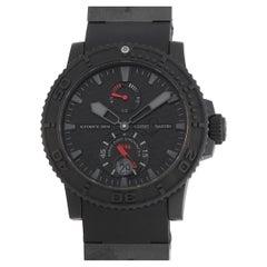 Ulysse Nardin Ulysee Nardin Maxi Marine Black Ocean Chronometer Watch 263-38LE-3