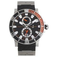 Ulysse Nardin Ulysee Nardin Maxi Marine Diver Black Titanium Watch 263-90-3-92