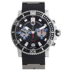 Ulysse Nardin Ulysee Nardin Maxi Marine Diver Chronograph Watch 8003-102-3-02