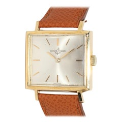 Ulysse Nardin Vintage TV Screen Wristwatch 18 Karat Gold