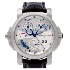 Ulysse Nardin, White Dial, Certified and Warranty