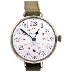 Ulysse Nardin World War I Military Wristwatch, 1910s