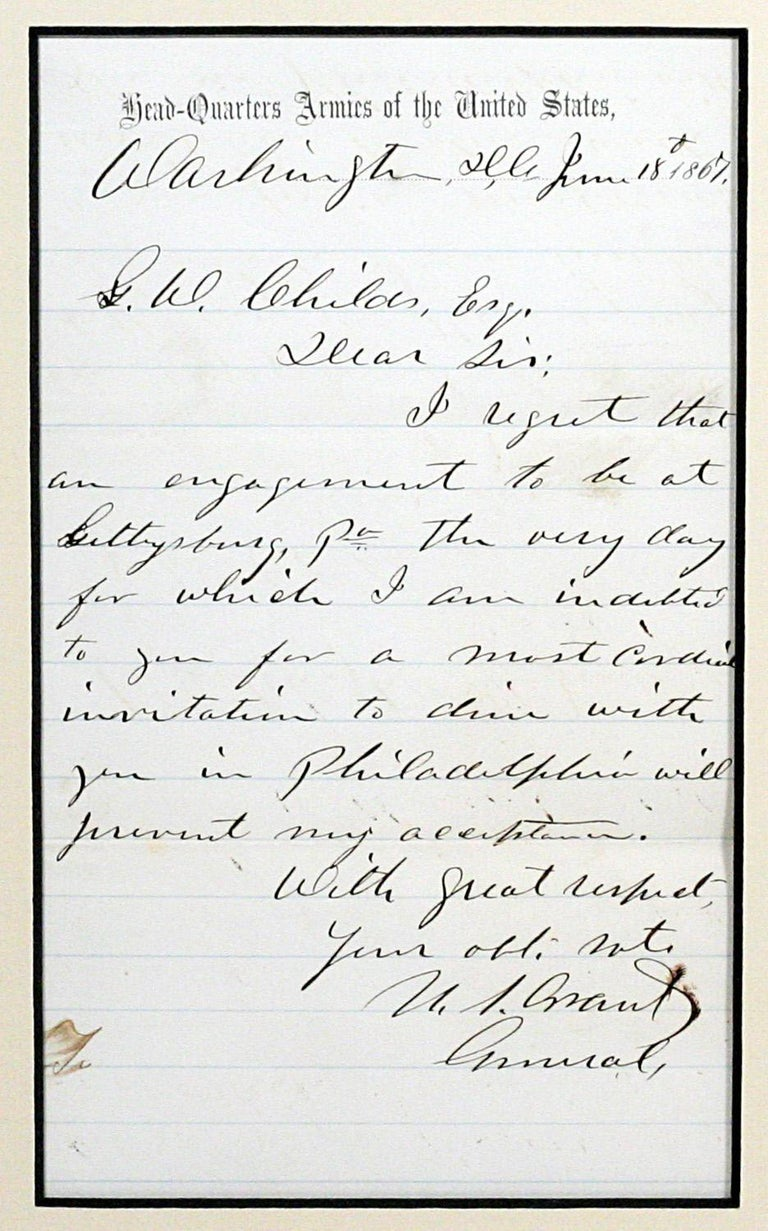 Grant, Ulysses S.
